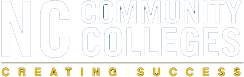 logo for NC Community colleges